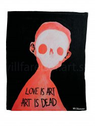 Love is Art, print 30x40 cm